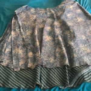 This skirt from India and I never wear.